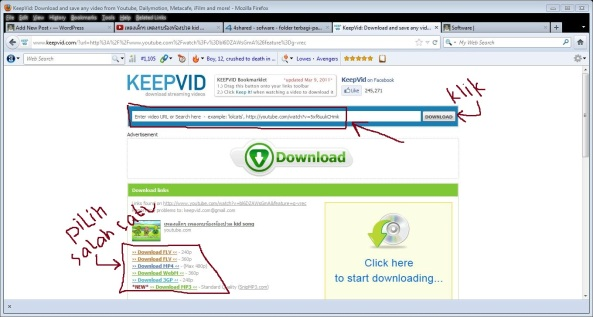 Cara Download Video youtube termudah