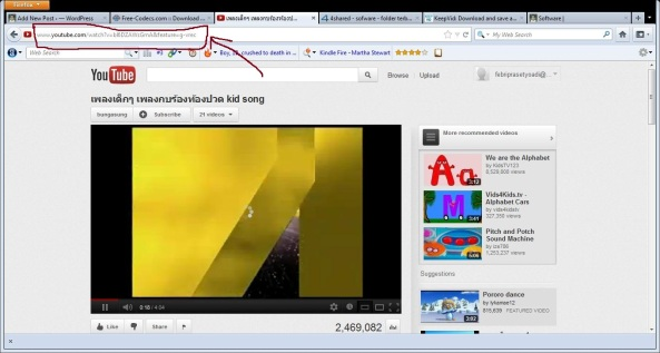 Download video youtube dengan keepvid